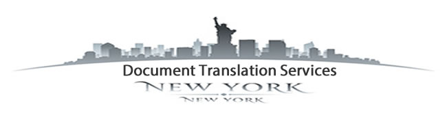 Document Translation Services New York